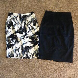2 Banana Republic pencil skirts